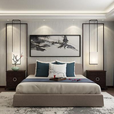 现代色彩卧室定制